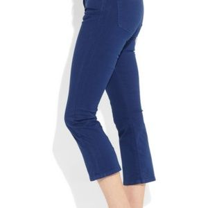 J Brand Womens Gigi Cropped Mid Rise Flare Jeans